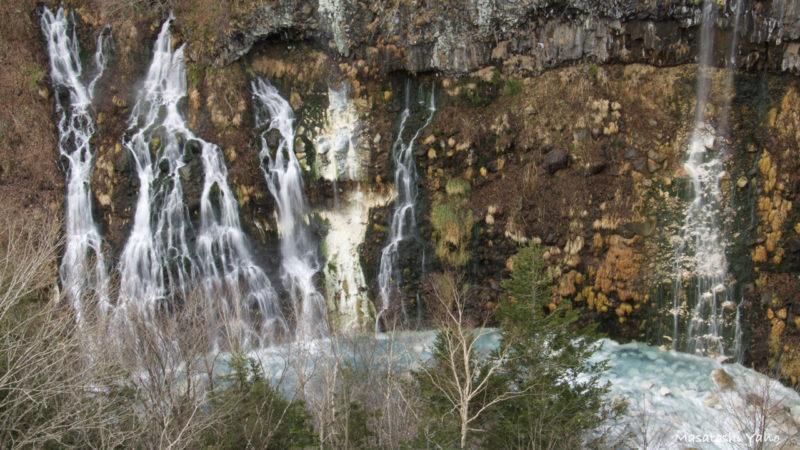 秋の白ひげの滝
