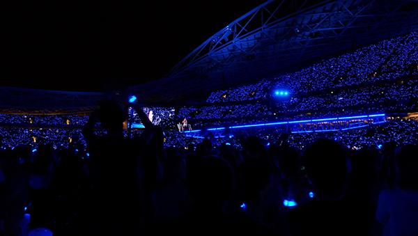 Taylor Swift1989ライブ会場の客席
