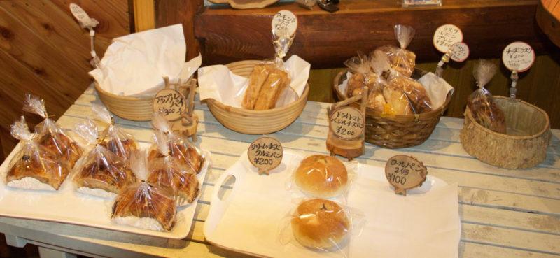 富良野にある石窯パン屋アイムのパン達