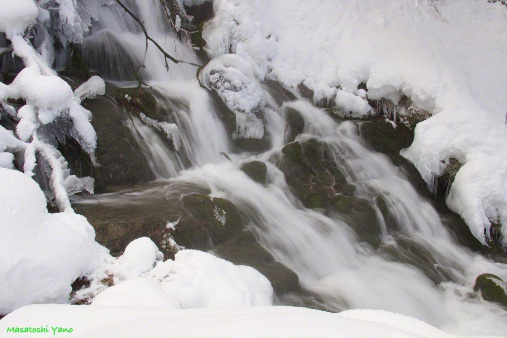 閉ざされし場所!?冬の不動の滝へ行ってみた。