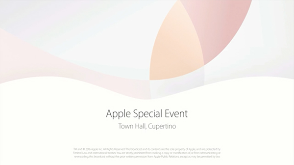 Apple Special Eventの画像
