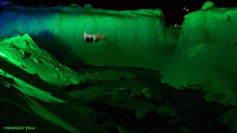 氷瀑まつり2016年