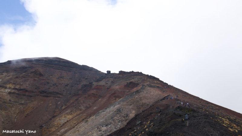 旭岳9合目の山道