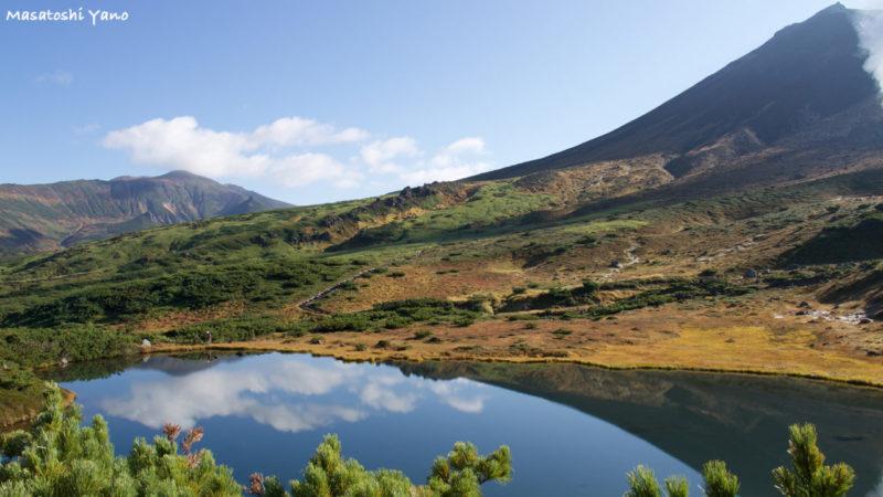 旭岳にある姿見池