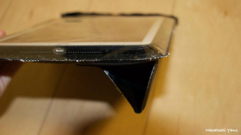 iPadAir2の防水ケースのスタンド