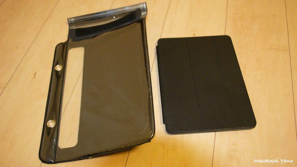 iPad純正ケースをつけたまま装着できるiPad防水ケースお風呂で8ヶ月間使用してみた。