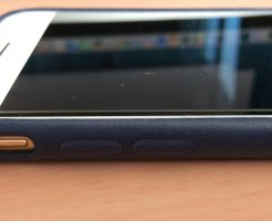 iPhone6s純正ケースとのフィット感