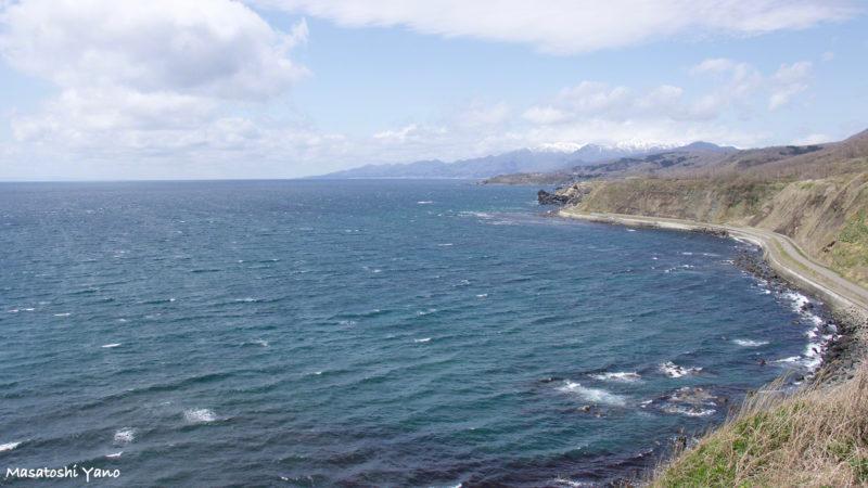 乙部町から見える海