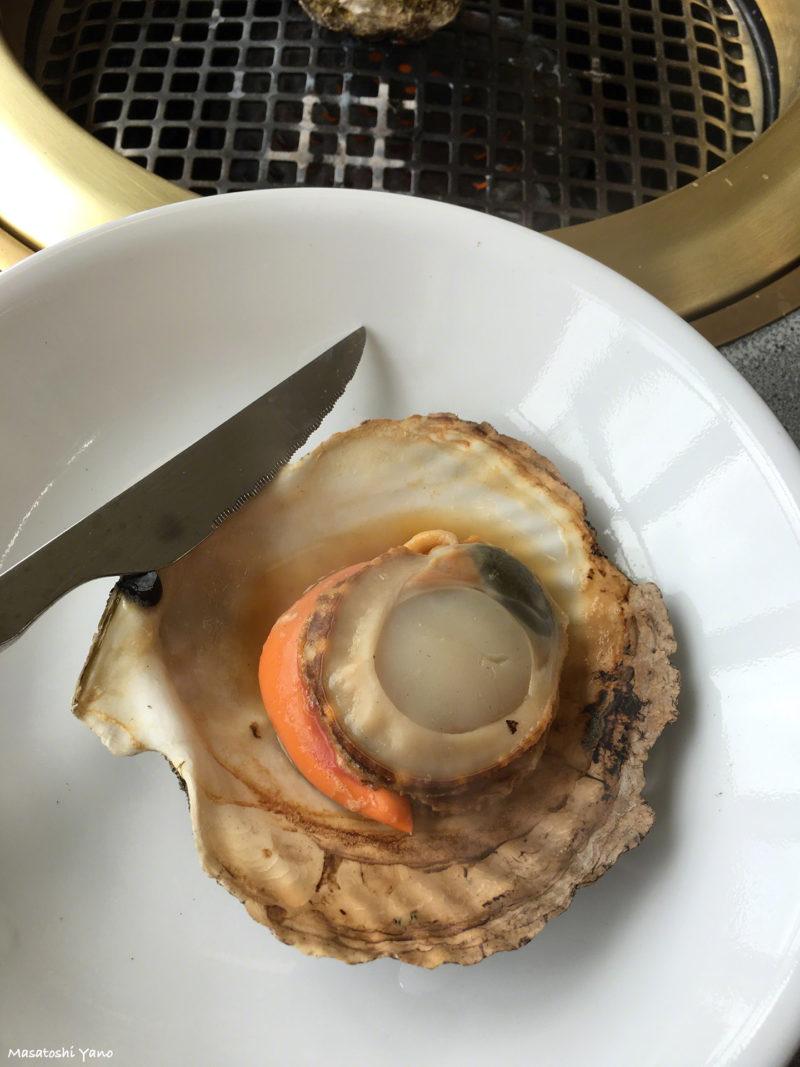 島牧村の道の駅で食べられるホタテ