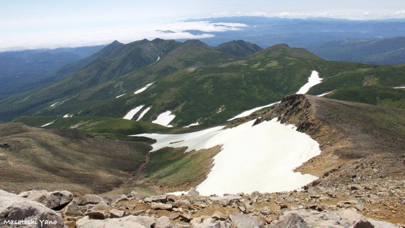 十勝岳の山頂