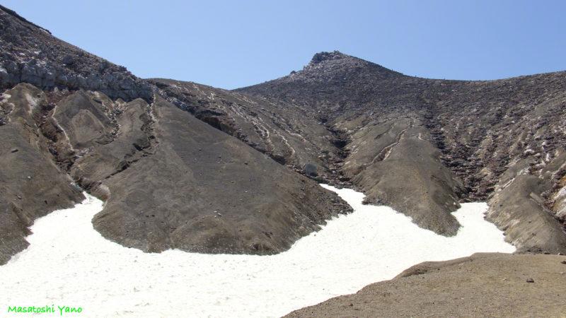 十勝岳の登山道