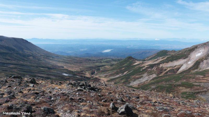 北鎮岳山頂からの景色