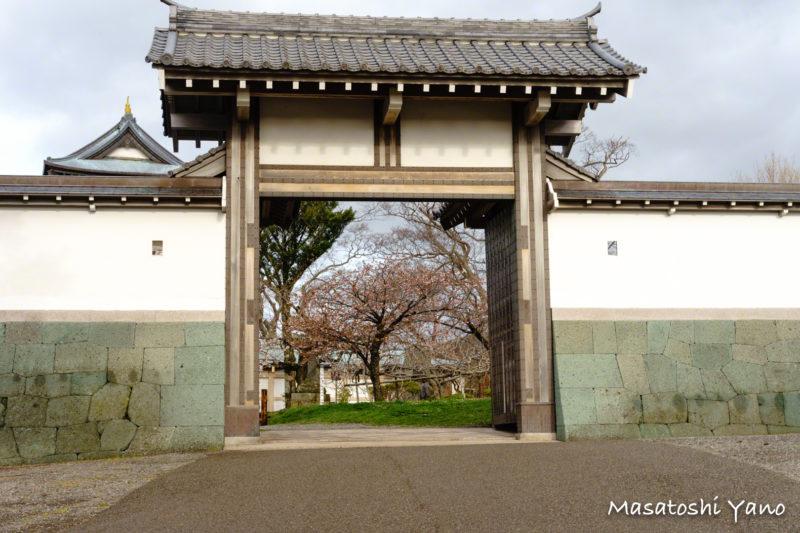 桜が咲く前の松前公園