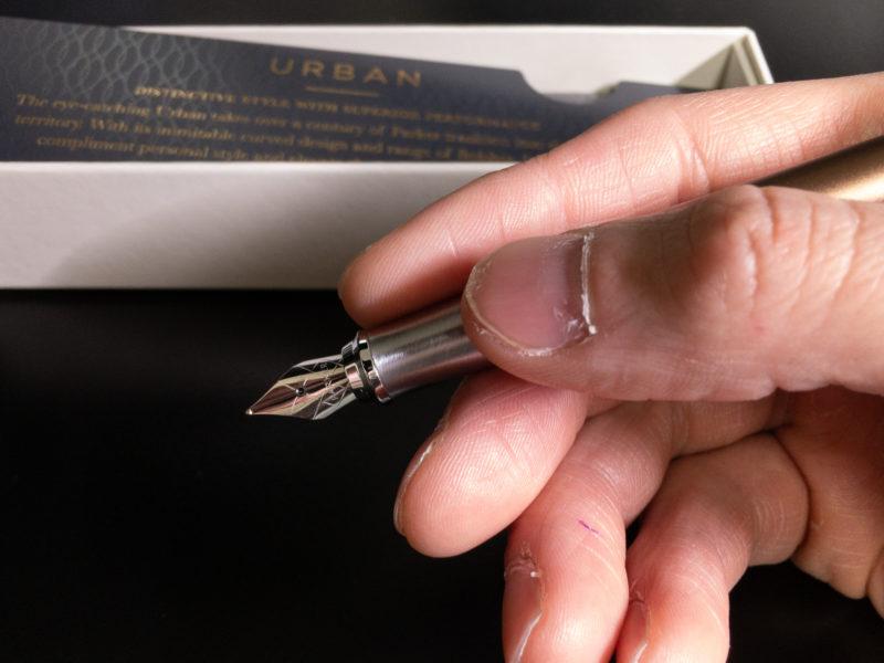 手に馴染む万年筆