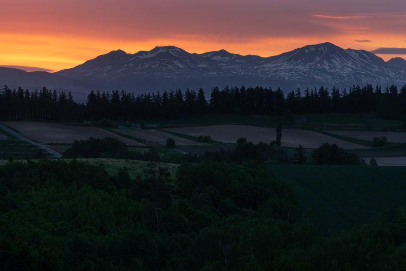 新栄の丘の日の出