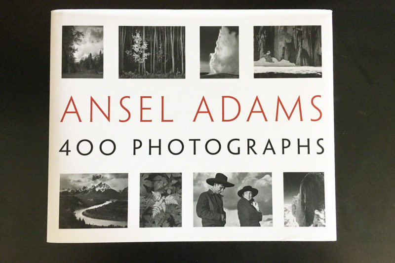 ansel adams 400photographs表紙